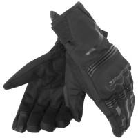Guanti moto invernali Dainese Tempest D-Dry corti nero nero