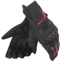 Guanti moto invernali Dainese Tempest D-Dry corti nero rosso