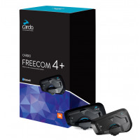 Interfono Bluetooth Cardo FREECOM 4+ Doppio conference 3 piloti fino a 1200 metri