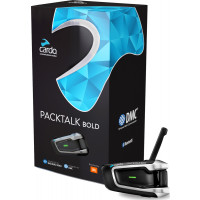 Interfono Bluetooth Cardo PACKTALK BOLD Singolo conference 15 piloti fino a 8000 metri