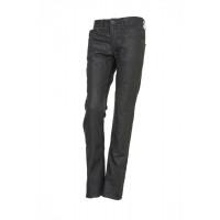 Jeans donna Esquad Silva con inserti in Kevlar grigio olio