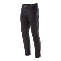 Jeans moto Alpinestars ALU Nero Overdye