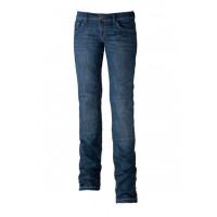 Jeans moto donna Motto Kira X Blu con Kevlar