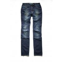 Jeans moto donna PMJ Florida Blu Scuro