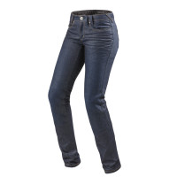 Jeans moto donna Rev'it Madison 2 Ladies Blu medio