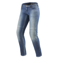 Jeans moto donna Rev'it Westwood Ladies SF Azzurro Slavato L32