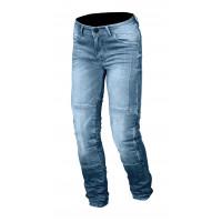 Jeans moto Macna Stone con rinforzi in Kevlar blu chiaro