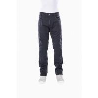Jeans moto Motto GALLANTE con rinforzi in fibra aramidica Nero