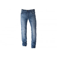 Jeans moto Motto GALLANTE con rinforzi in Kevlar blu