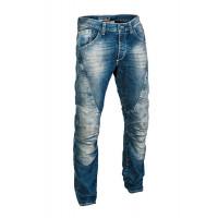Jeans moto PMJ Dallas Blu