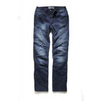 Jeans moto PMJ Titanium certificato Livello 2 Blu
