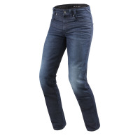 Jeans moto Rev'it Vendome 2 Blu Scuro Slavato L34