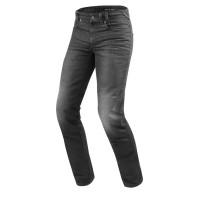Jeans moto Rev'it Vendome 2 Grigio Scuro slavato L34