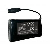Kit completo batteria universale e caricabatterie Klan 7.4volt 6.0ah