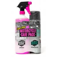 Kit Pulizia e Protezione Moto Muc-Off Duo Care Pack