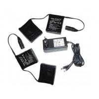 Kit completo batteria e caricabatterie Klan per calze e guanti 7.4volt 3.0Ah