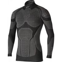 Maglia termica Alpinestars Ride Tech a maniche lunghe nero grigio
