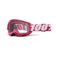 Occhiali cross 100% Strata 2 fletcher lente trasparente