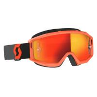 Occhiali cross Scott Primal Arancio Nero lente Arancio cromata