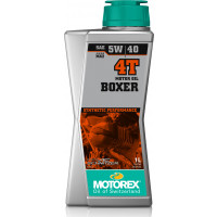 Olio motore lubrificante Motorex BOXER 4T 5W-40 JASO MA2 per motori 4T 1 litro