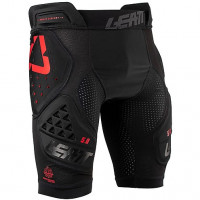Pantaloncini protettivi cross Leatt Impact Shorts 3DF 5.0 Nero