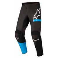 Pantaloni cross Alpinestars FLUID CHASER Nero Blu Neon