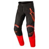 Pantaloni cross Alpinestars FLUID SPEED Nero Rosso Acceso