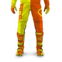 Pantaloni cross bambino Acerbis Eclipse Kid Giallo Arancio