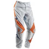 Pantaloni cross bambino Thor Phase Vented Doppler grigio arancio