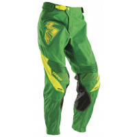 Pantaloni cross Thor Core Contro verde kelly giallo