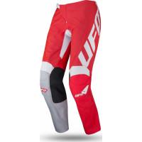 Pantaloni cross Ufo Plast INDIUM Rosso Fluo
