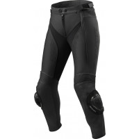 Pantaloni moto donna pelle Accorciati Rev'it Xena 3 Ladies Nero