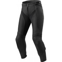 Pantaloni moto donna pelle Rev'it Xena 3 Ladies Nero