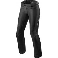 Pantaloni moto donna Rev'it Factor 4 Ladies Nero