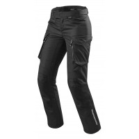 Pantaloni moto donna Rev'it Outback neri Ladies standard