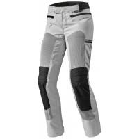 Pantaloni moto donna Rev'it Tornado 2 argento nero
