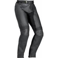 Pantaloni moto pelle Ixon HAWK nero