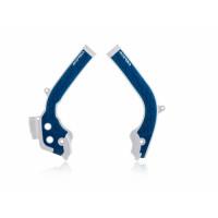 Paratelaio Acerbis 0021726 X-GRIP KTM - HUSQVARNA Bianco Blu