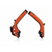 Paratelaio Acerbis 0021726 X-GRIP KTM - HUSQVARNA Nero Arancio