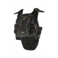 Pettorina protettiva Alpinestars A-4 Chest Protector nero antracite