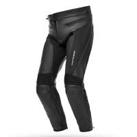 Pantaloni moto donna pelle Spyke LF PANTS LADY Nero
