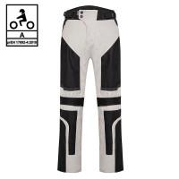 Pantaloni moto estivi Befast DUNE PANT CE Certificati Nero Grigio