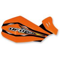Coppia plastiche di ricambio UFO per paramani Claw Arancio