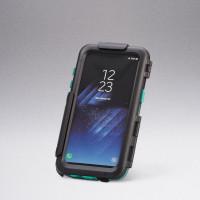 Porta Smartphone Midland per Galaxy S8 con sistema di aggancio per manubri tubolari