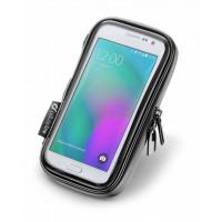 Porta smartphone universale Cellular Line Unicase 4,5 pollici impermeabile da moto e bici