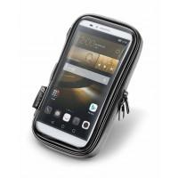 Porta smartphone universale Cellular Line Unicase 6.5 pollici impermeabile da moto