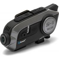 Interfono Bluetooth universale SCS S-11 con videocamera singolo