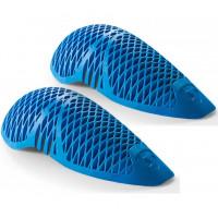 Coppia di protezioni Rev'it gomito-ginocchio SEEFLEX RV10 Livello 2 blu per giacche o pantaloni