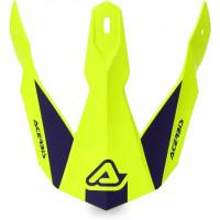 Ricambio frontino Acerbis per casco Linear Giallo Blu