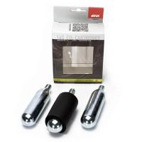 Givi S450kit set 3 bombolette CO2 per kit riparagomme S450KIT